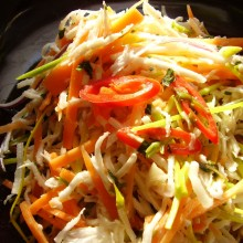 South Indian Coconut Salad
