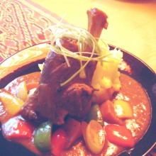 Curried Lamb Shank Stew