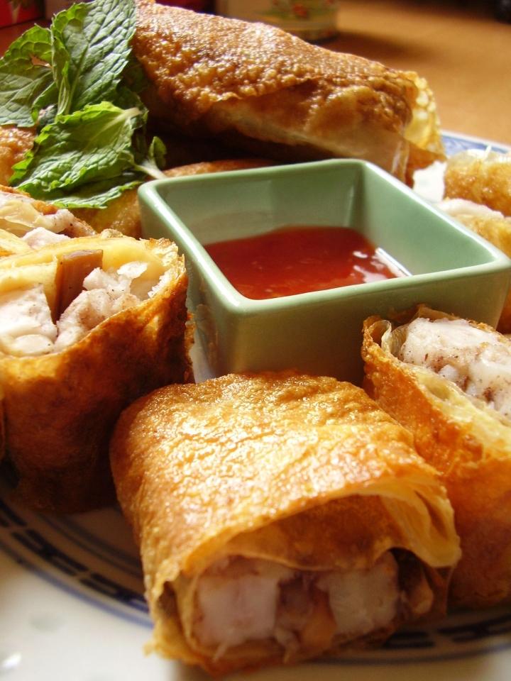 Vegetarian Loh bah